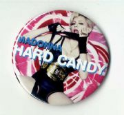"HARD CANDY - PROMO LARGE 3"" BUTTON PIN BADGE"